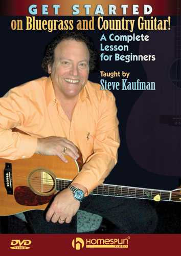 DVD - Get Started On Bluegrass and Country Guitar!-A Complete Lesson for Beginners