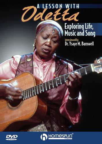 DVD-A Lesson with Odetta - Exploring Life, Music and Song