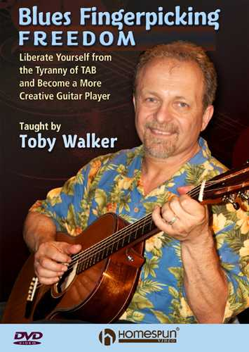 DVD - Blues Fingerpicking Freedom, DVD 1 - Liberate Yourself From the Tyranny of Tab