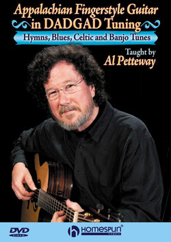 DVD - Appalachian Fingerstyle Guitar in DADGAD Tuning - Hymns, Blues, Celtic and Banjo Tunes