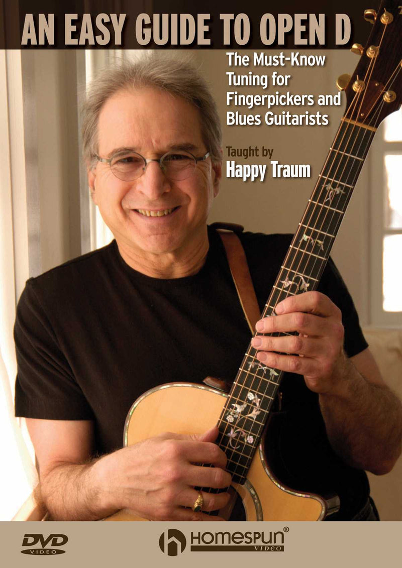 DVD-An Easy Guide to Open D-The Must-Know Tuning for Fingerpickers and Blues Guitarists