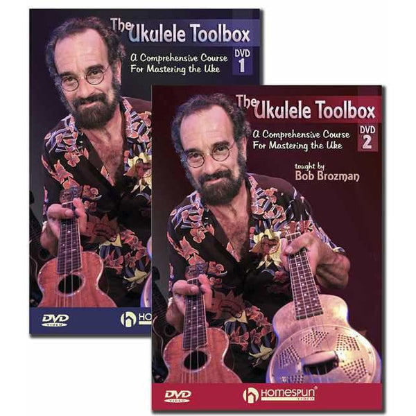 DVD-The Ukulele Toolbox: Two DVD Set