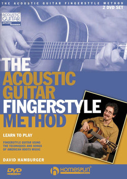 DVD-The Acoustic Guitar Fingerstyle Method
