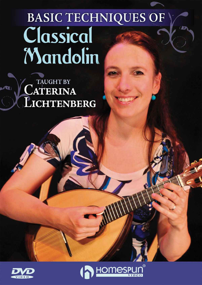 DVD - Basic Techniques of Classical Mandolin