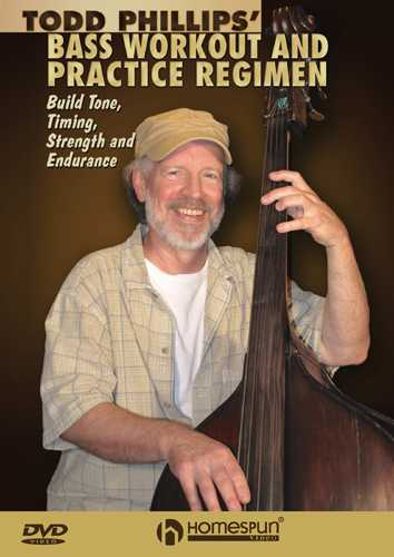 DVD - Todd Phillips' Acoustic Bass Workout and Practice Regimen