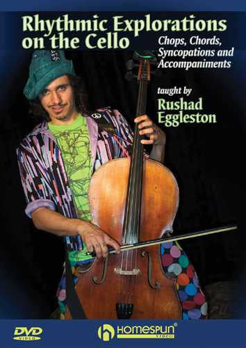 DVD - Rhythmic Explorations On the Cello - Chops, Chords, Syncopations and Accompaniments