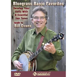 DVD - Bluegrass Banjo Favorites - Develop Your Skills with 8 Essential Jam Tunes