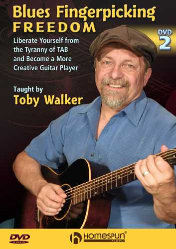 DVD - BLUES FINGERPICKING FREEDOM, DVD 2 - LIBERATE YOURSELF FROM THE TYRANNY OF TAB
