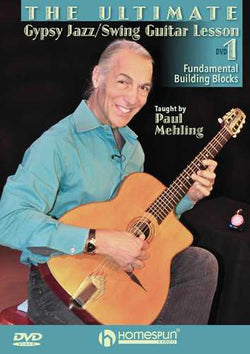 DVD-The Ultimate Gypsy Jazz/Swing Guitar Lesson - Lesson 1: Fundamental Building Blocks
