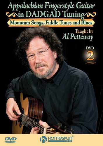 DVD - Appalachian Fingerstyle Guitar in DADGAD Tuning, Lesson Two