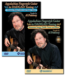 DVD - Appalachian Fingerstyle Guitar in DADGAD Tuning: Two DVD Set