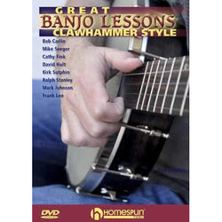 DVD - Great Banjo Lessons: Clawhammer Style
