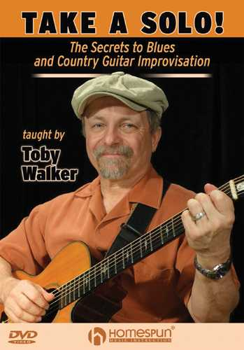 DVD - Take a Solo!-The Secrets to Blues and Country Guitar Improvisation