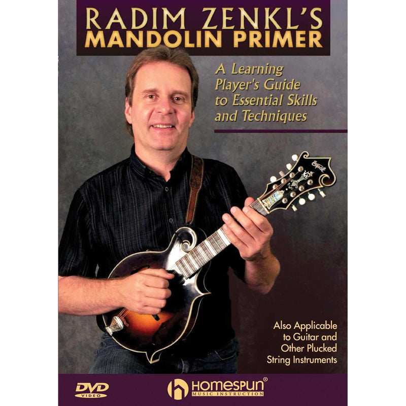 DVD - Radim Zenkl's Mandolin Primer-A Learning Player'S Guide to Essential Skills and Techniques