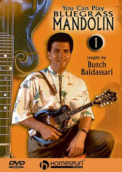 DVD - You Can Play Bluegrass Mandolin: Vol. 1