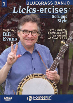 DVD - Bluegrass Banjo Licks-Ercises - Vol. 1: Scruggs Style