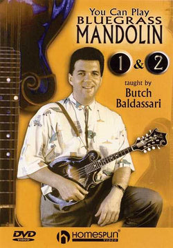 DVD - You Can Play Bluegrass Mandolin: Two DVD Set