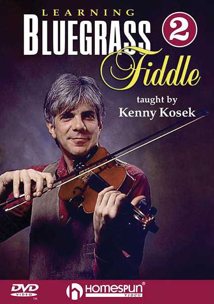DVD - Learning Bluegrass Fiddle: Vol. 2