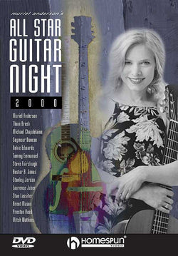 DVD - Muriel Anderson's All Star Guitar Night, Concert 2000