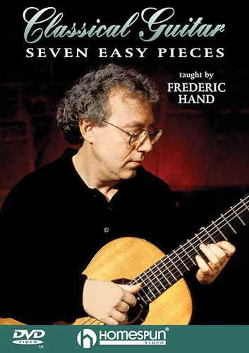DVD - Seven Easy Pieces for Classical Guitar