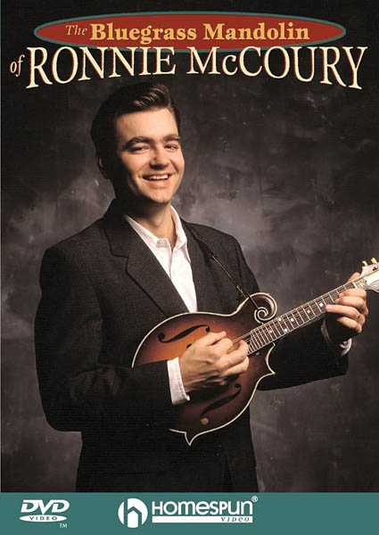 DVD-The Bluegrass Mandolin of Ronnie McCoury