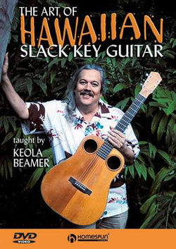 DVD-The Art of Hawaiian Slack Key Guitar