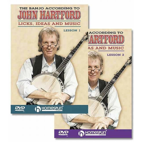 DVD-The Banjo According to John Hartford: Two DVD Set