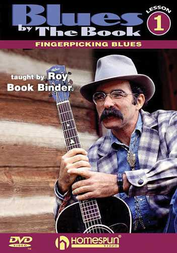 DVD - Blues by the Book: Vol. 1 - Fingerpicking Blues