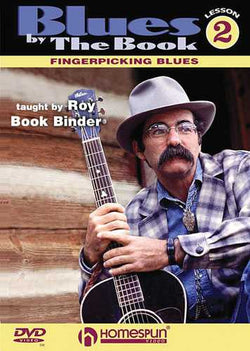 DVD - Blues by the Book: Vol. 2 - Fingerpicking Blues