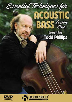 DVD - Essential Techniques for the Acoustic Bass: Vol. 1