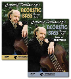 DVD - Essential Techniques for the Acoustic Bass: Two DVD Set