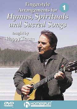 DVD - Fingerstyle Arrangements for Hymns, Spirituals and Sacred Songs: Vol. 1