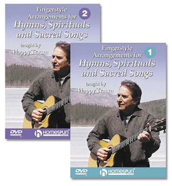 DVD - Fingerstyle Arrangements for Hymns, Spirituals and Sacred Songs: Two DVD Set