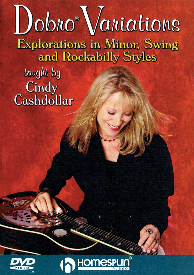 DVD - Dobro Variations - Explorations in Minor, Swing, and Rockabilly Styles