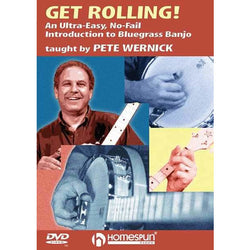 DIGITAL DOWNLOAD ONLY - Get Rolling-An Ultra-Easy, No-Fail Introduction to Bluegrass Banjo