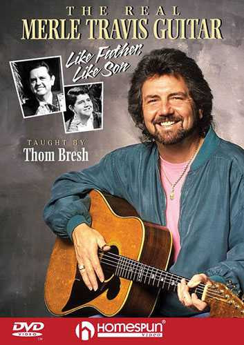 DVD-The Real Merle Travis Guitar - Like Father, Like Son
