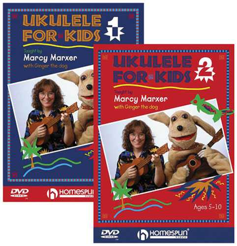 DVD - Ukulele for Kids: Two DVD Set