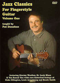 DVD - Jazz Classics for Fingerstyle Guitar, Vol. 1