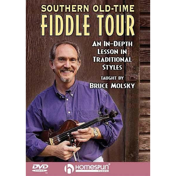 DVD - Southern Old-Time Fiddle Tour-An in-Depth Lesson in Traditional Styles