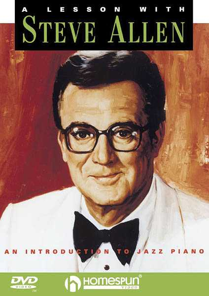 DVD-A Lesson with Steve Allen: An Introduction to Jazz Piano
