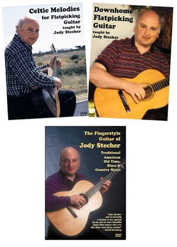 Jody Stecher's Fingerpicking and Flatpicking Special Combo