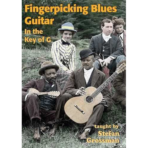 DVD - Fingerpicking Blues Guitar-In the Key of G