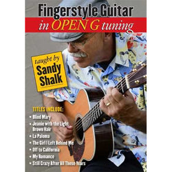 DVD - Fingerstyle Guitar in Open G Tuning