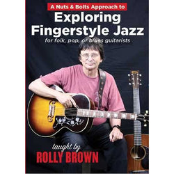 DVD-A Nuts & Bolts Approach to Exploring Fingerstyle Jazz