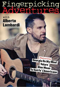 DVD - Fingerpicking Adventures with Alberto Lombardi