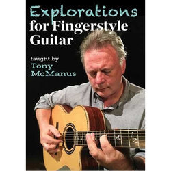 DVD - Explorations for Fingerstyle Guitar