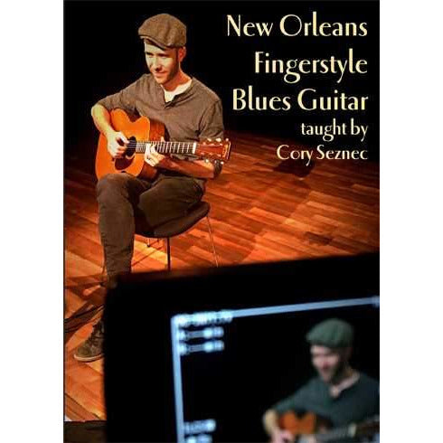 DVD - New Orleans Fingerstyle Blues Guitar