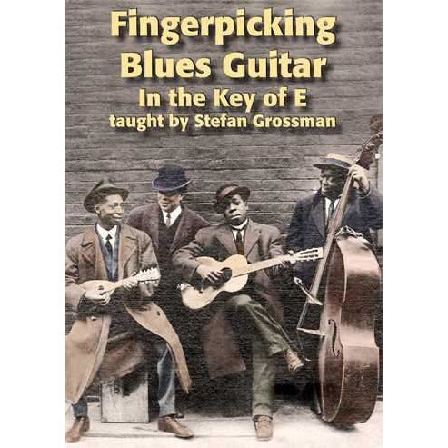DOWNLOAD ONLY - Fingerpicking Blues Guitar in the Key of E