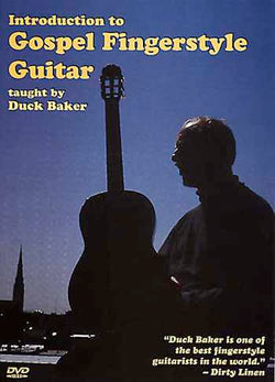 DVD - Introduction to Gospel Fingerstyle Guitar