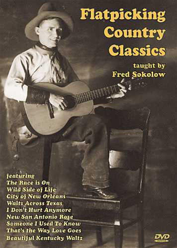 DVD - Flatpicking Country Classics